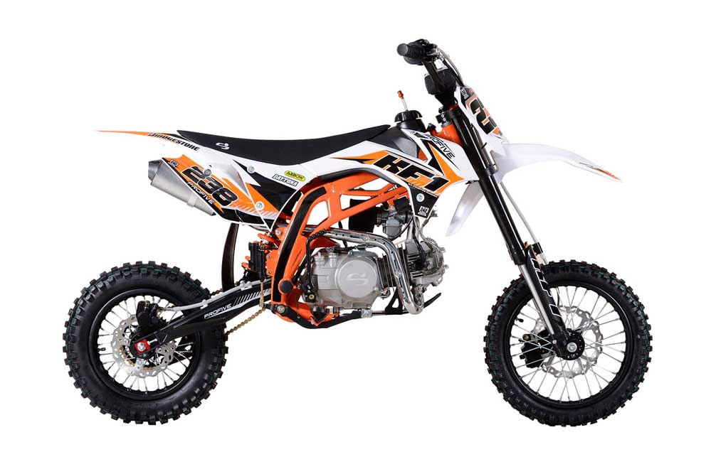 Profive Pit Bike kf1 125cc 14-12 | Pit Bike Cross | Pit Bike Motard | Ricambi Pit Bike | Mini Quad